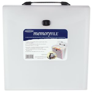 "Memory File Expandable Storage Case 12""X12"""