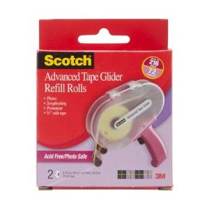 Scotch tape refil 1 / 4''x36 yrds / 2pqt