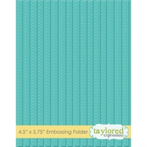 TE Embossing Folder - Know the ropes