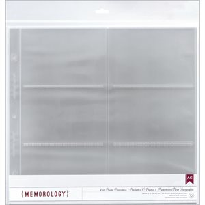 "American Crafts Side-Loading Page Protectors 12""x12"" 10 / Pkg"