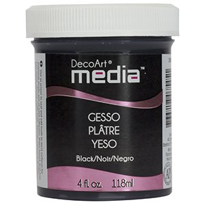 Media Gesso 4oz Black