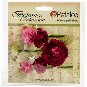 "Botanica Gypsy Rose Branch 3"" Long 3 / Pkg Rose"