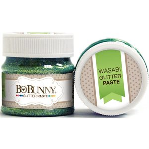 BoBunny Double Dot Glitter Paste  wasabi