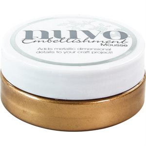 Nuvo Embellishment Mousse Cosmic Brown