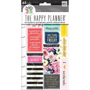 Create 365 Planner Stickers  Happy Life