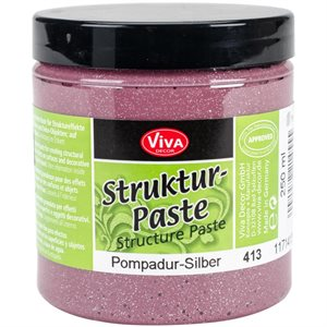 Viva Decor Structure Paste 8.45oz Pompadur Silver