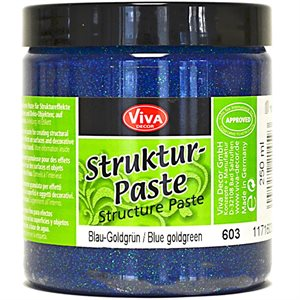 Viva Decor Structure Paste 8.45oz Blue Goldgreen