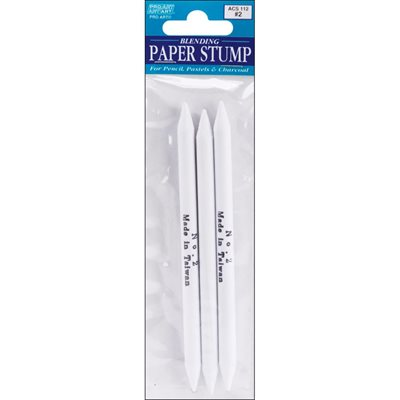Pro Art Blending Paper Stumps #2 3 / Pkg